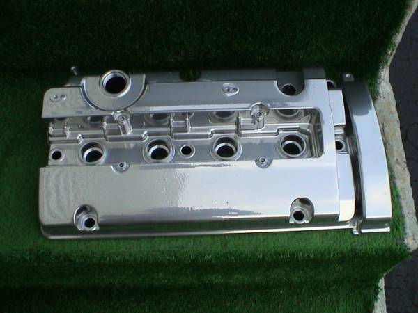 Shaved valve cover